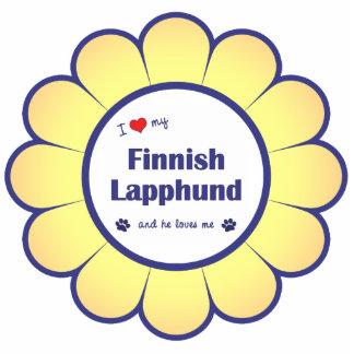 I Love My Finnish Lapphund (Male Dog) Photo Sculpture