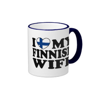 I Love My Finnish Wife Coffee Mugs