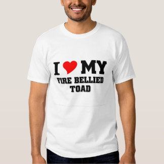 I love my Fire bellied toad T Shirt