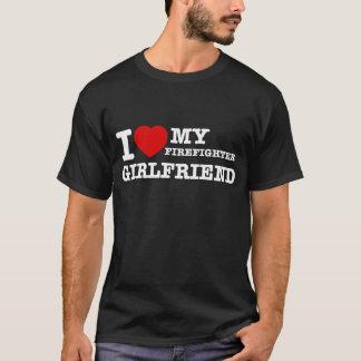 I love my Firefighter girlfriend T-Shirt