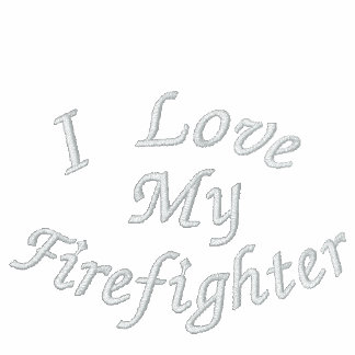I Love, My Firefighter-Hoodie