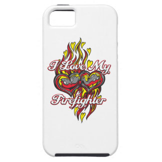 I Love My Firefighter iPhone 5 Cases