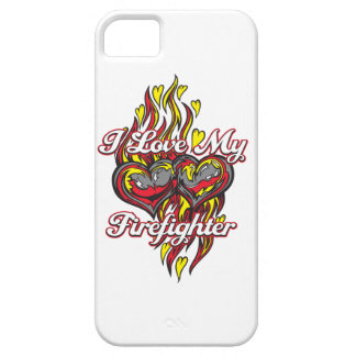 I Love My Firefighter iPhone 5 Cover