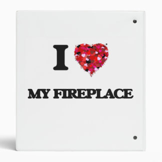 I Love My Fireplace Binder