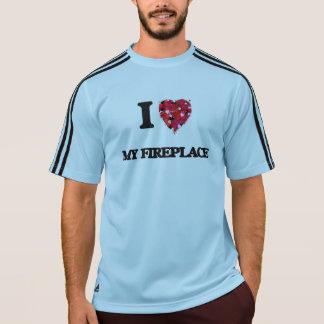 I Love My Fireplace Shirt