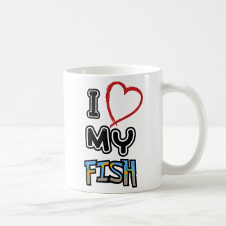 I love my fish coffee mug
