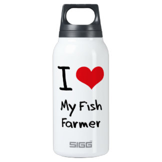 I Love My Fish Farmer SIGG Thermo 0.3L Insulated Bottle