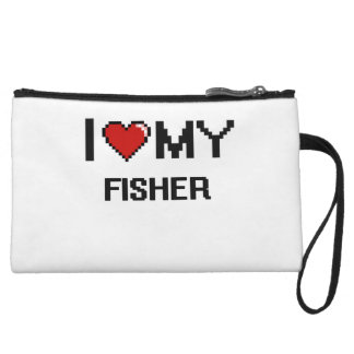 I love my Fisher Wristlet Purse