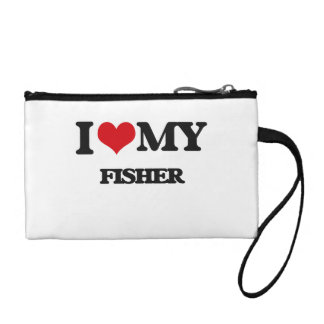 I love my Fisher Coin Purse