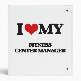 I love my Fitness Center Manager Vinyl Binders