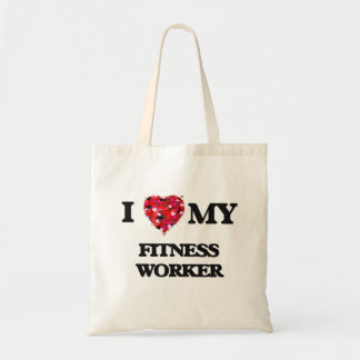 I love my Fitness Worker Budget Tote Bag