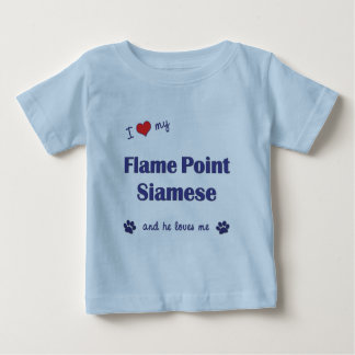 I Love My Flame Point Siamese (Male Cat) T-shirt
