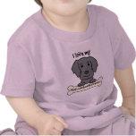I Love My Flat-Coated Retriever T Shirts
