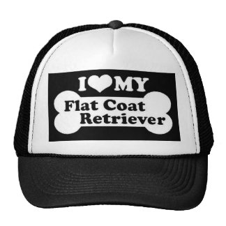 I love my Flat Coated Retriever Trucker Hat