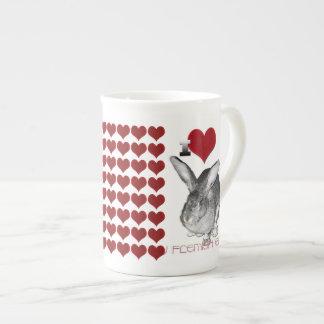 I Love My Flemish Giant Bunny Tea Cup