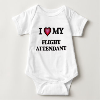 I love my Flight Attendant Baby Bodysuit