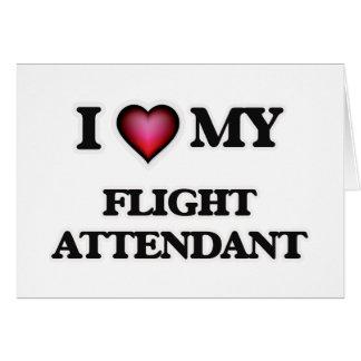 I love my Flight Attendant Card
