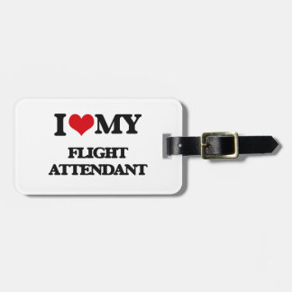 I love my Flight Attendant Tag For Luggage