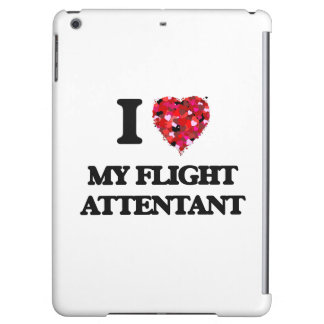 I Love My Flight Attentant Cover For iPad Air