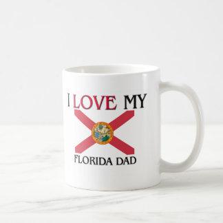 I Love My Florida Dad Classic White Coffee Mug
