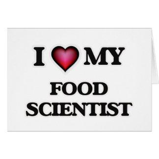 I love my Food Scientist Card