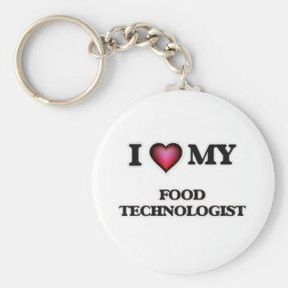 I love my Food Technologist Keychain