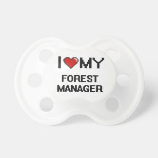 I love my Forest Manager BooginHead Pacifier