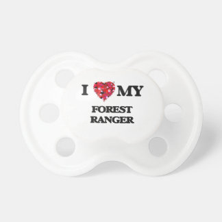 I love my Forest Ranger BooginHead Pacifier