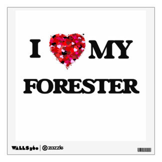 I love my Forester Wall Graphics