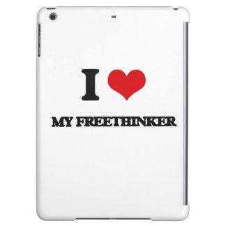 I Love My Freethinker iPad Air Cases