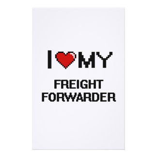 I love my Freight Forwarder Stationery