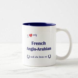 I Love My French Anglo-Arabian (Female Horse) Mug