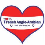 I Love My French Anglo-Arabian (Female Horse) Photo Cutouts