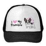 I Love My French Bulldog Hat
