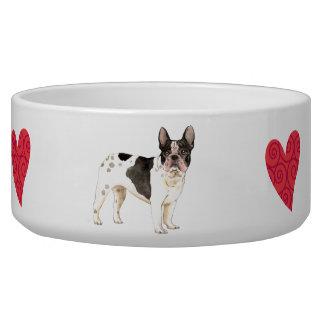 I Love my French Bulldog Dog Food Bowl