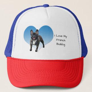 I Love My French Bulldog Trucker Hat