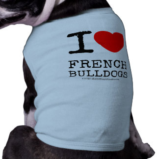 I Love My Frenchie Shirt