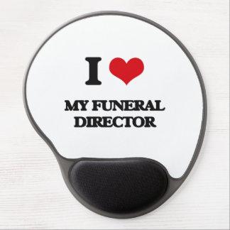 I Love My Funeral Director Gel Mousepads