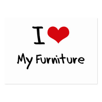 I love My Furniture Large Business Cards (Pack Of 100)