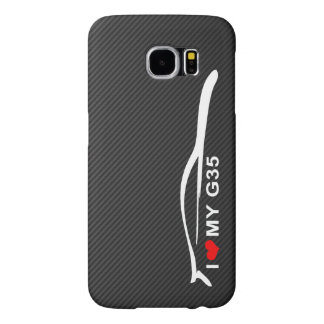 I Love My G35 Coupe Samsung Galaxy S6 Cases