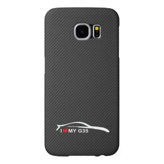 I Love My G35 Samsung Galaxy S6 Cases