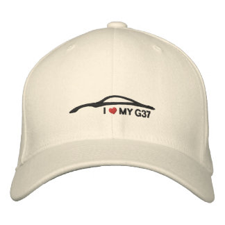 I Love My G37 Embroidered Hat