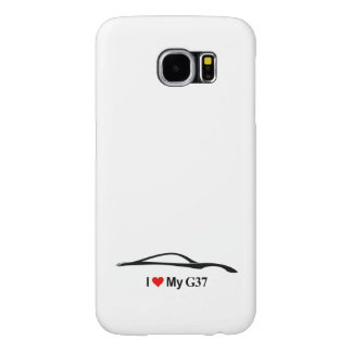 I Love My G37 - Infiniti G37 Coupe Samsung Galaxy S6 Cases