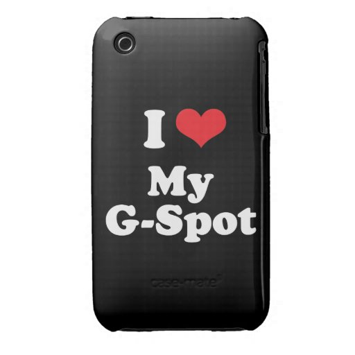 I LOVE MY G SPOT - .png iPhone 3 Covers