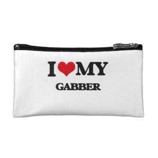 I Love My GABBER Makeup Bags