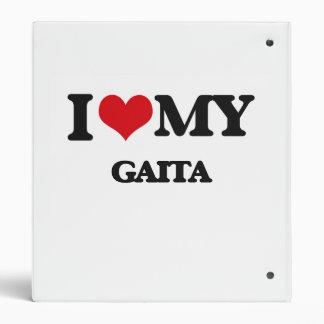 I Love My GAITA Vinyl Binders