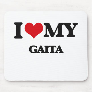 I Love My GAITA Mouse Pad