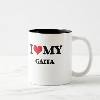 I Love My GAITA Two-Tone Coffee Mug