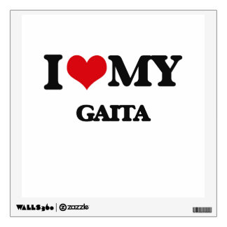 I Love My GAITA Wall Decal
