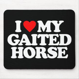 I LOVE MY GAITED HORSE MOUSEPADS